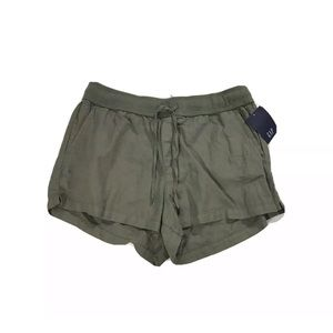 Gap Linen Pull On Shorts